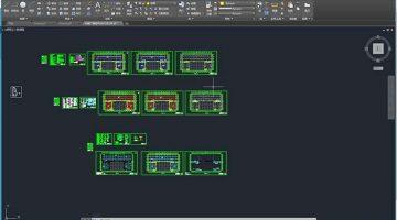 AutoCAD选定打印区域及打印设置